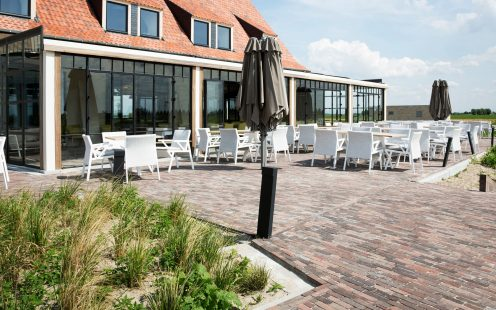 Reference photo infrastructure landscaping in Koksijde